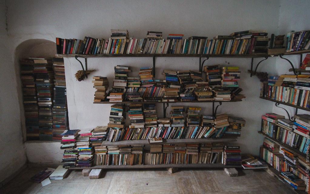 Book shop in Kaleici, Antalya