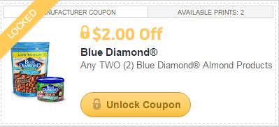 Free Blue Diamond Almonds