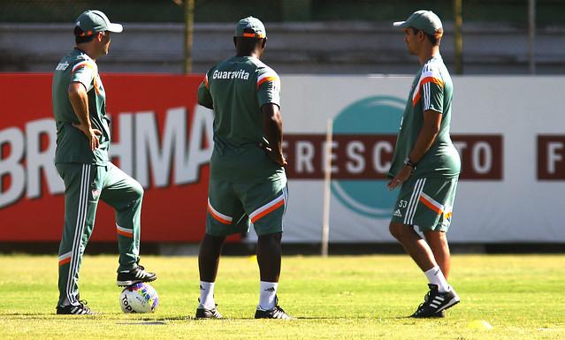 Flu volta aos treinos e inicia preparação para o jogo desta quarta contra o Bonsucesso