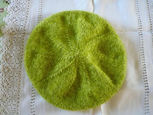 Green beret top