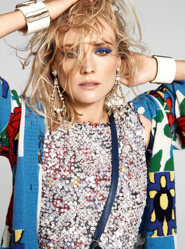 Диана Крюгер — Фотосессия для «Harper's Bazaar» AU 2014 – 10