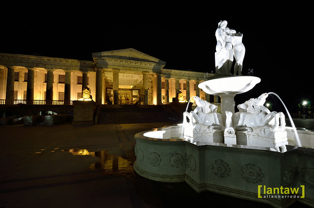 Temple of Leah at Night