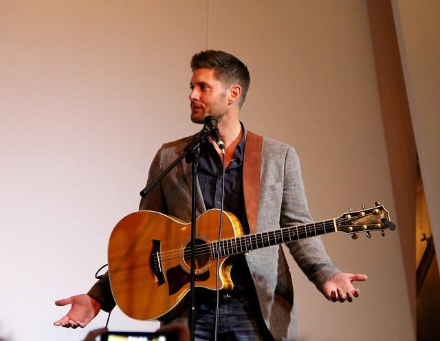 Jensen with guitar
