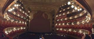 Buenos Aires - Teatro Colon auditorium