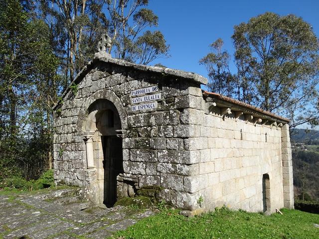 Iglesia de Santa Eulalia de A Espenuca en Coirós