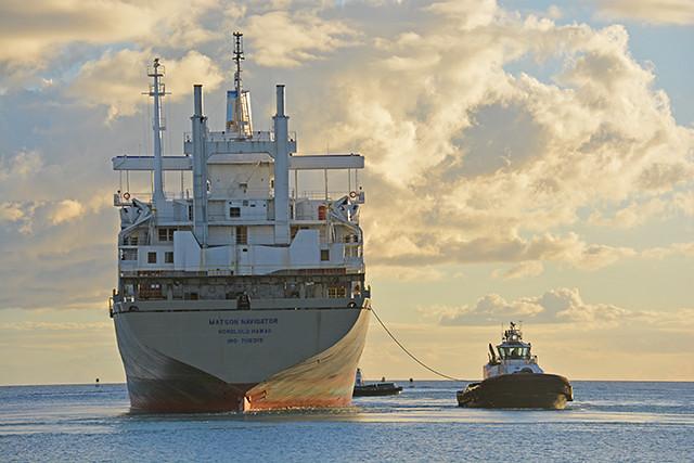 Matson Navigator stern