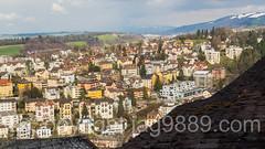 Town of Lucerne, Central Switzerland