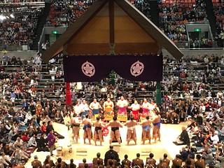 Japan - Kyoto and Osaka Sumo