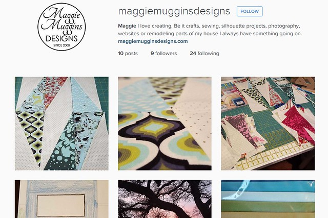 Follow Maggie Muggins Designs on Instagram