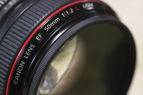 EXUS Filter & EF50mm f12_01