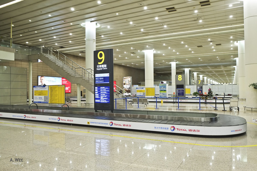 Arrival luggage claim