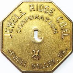 Jewell Valley Jewell Ridge Coal J20 obv