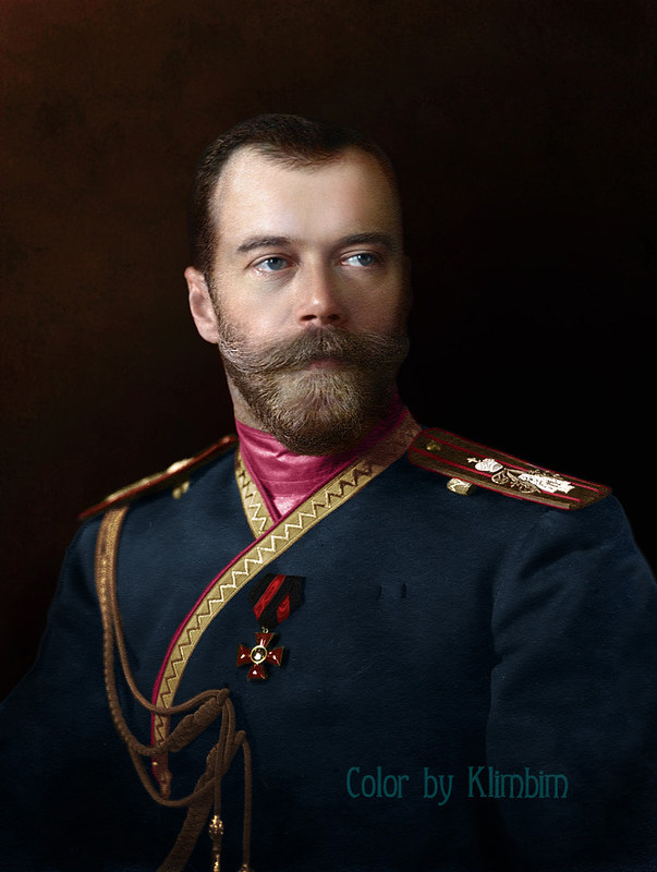 Nicholas II of Russia in the uniform of the Life-Guards 4th The Imperial Family's Rifle Regiment, 1912