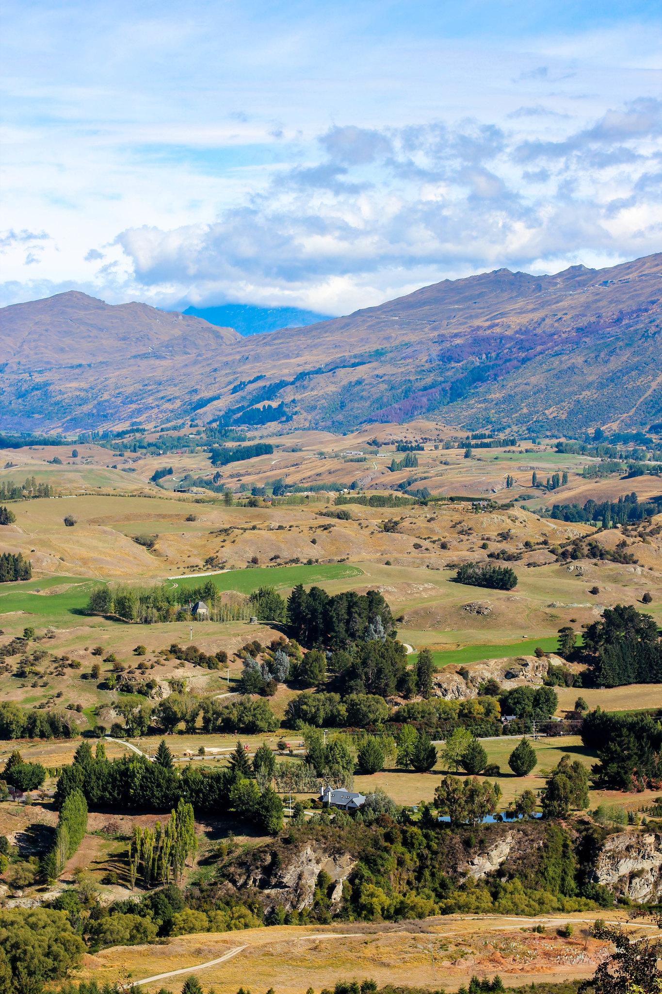 Drive to Lake Wanaka (Crown Range Rd)