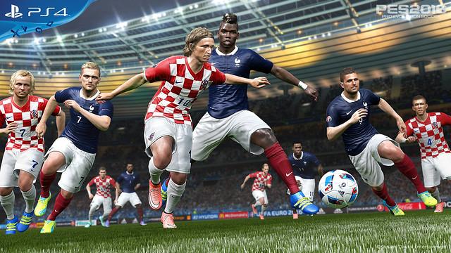 EURO 2016 France vs Croatia