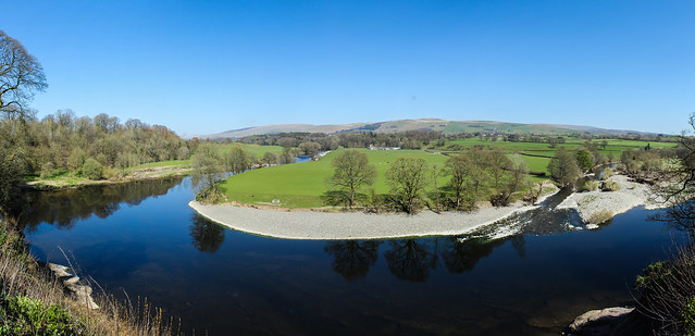 Ruskins View, Kirkby Lonsdale April 2016