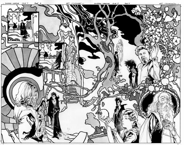 Sandman 4 pg 2 and 3