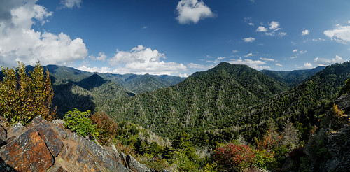 autumn panorama mountain nature weather rock clouds landscape unitedstates tennessee scenic valley nationalparks greatsmokymountainsnationalpark gsmnp mtleconte chimneytops greatsmokymountiansnationalpark
