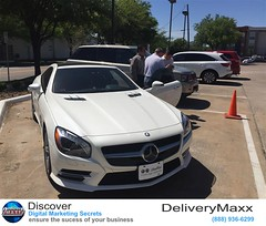 Mark Henry of DeliveryMaxx shows sales people from FIAT and Alfa Romeo of Dallas how to utilize the DeliveryMaxx program to help bring more customers through the dealership door!