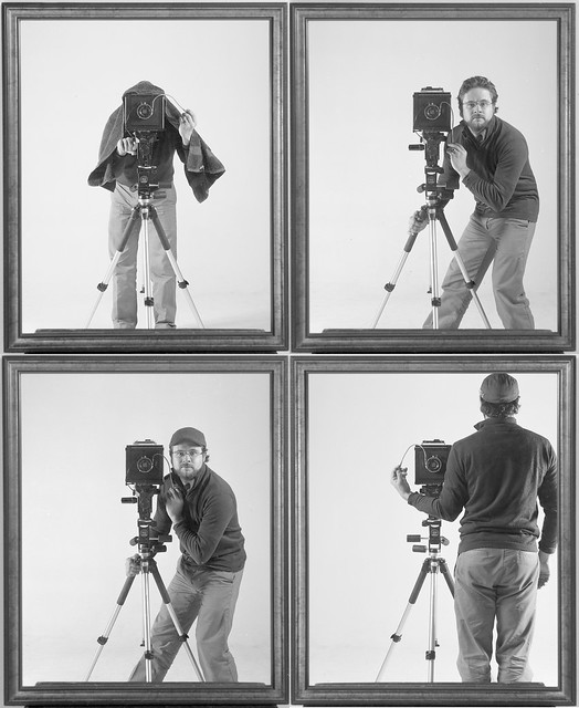 Self-Portraits in a Mirror with Tripod