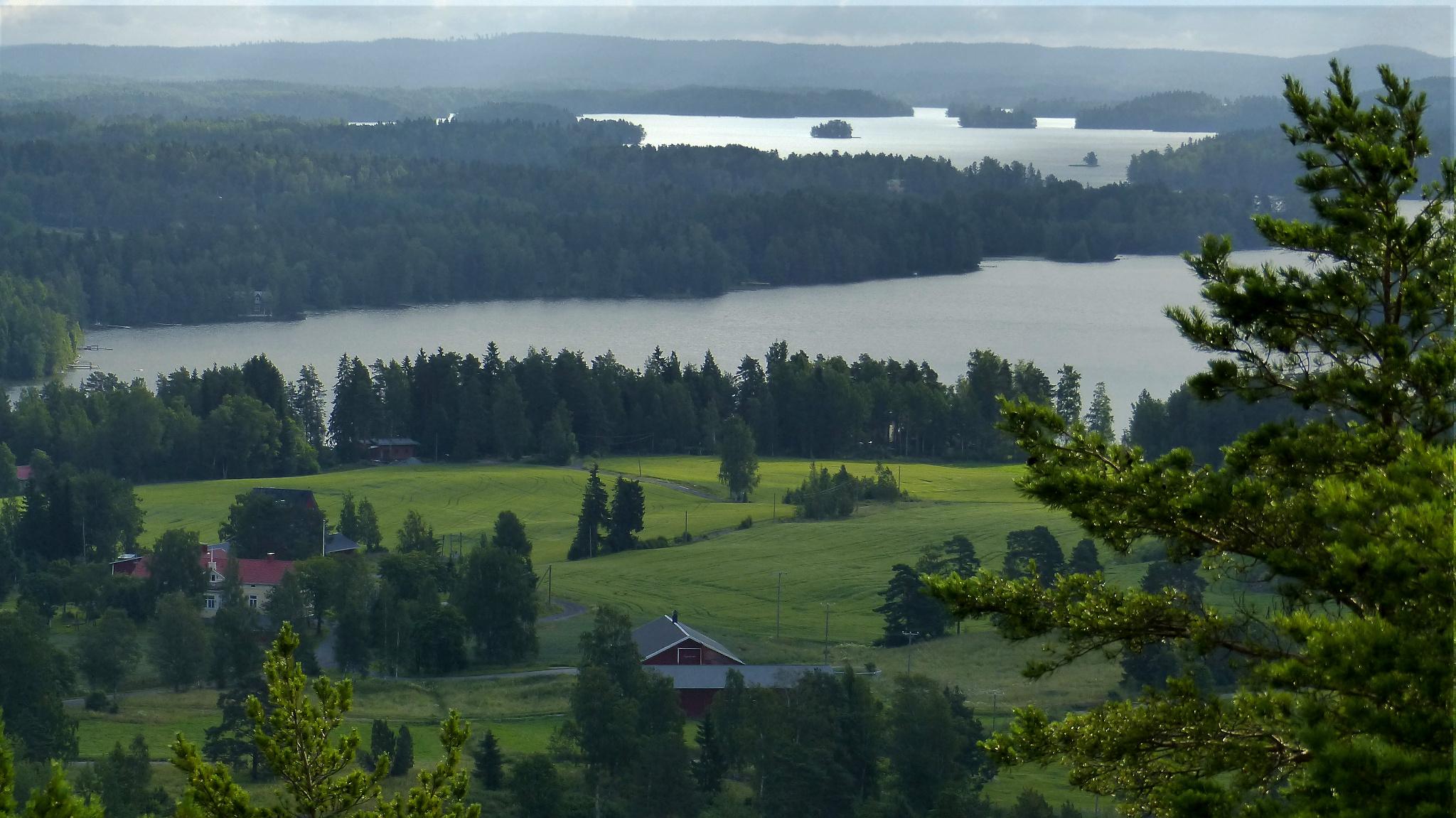 отец власий фото финляндии летом горы низкие