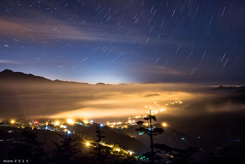 night landscape taiwan 台灣 梨山 雲海 福壽山 星空 2470 sigma2470 福壽山農場 600d