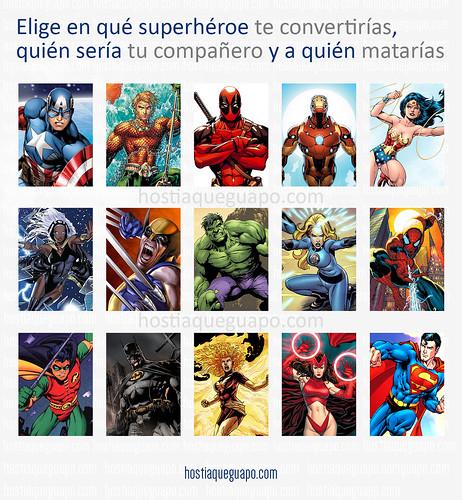 ¿Qué superhéroe serías?