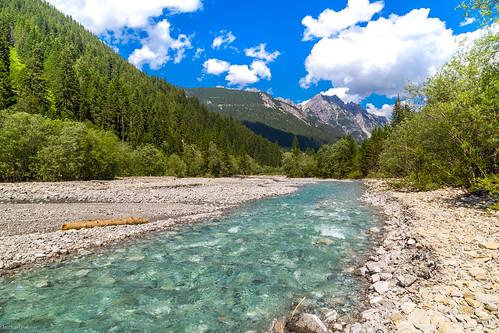 Unterwegs im Lechtal: das Hornbachtal
