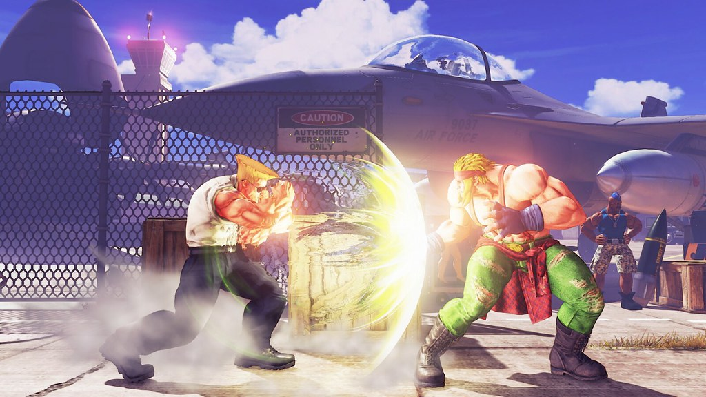 Guile Joins Street Fighter V Roster This Month April Update