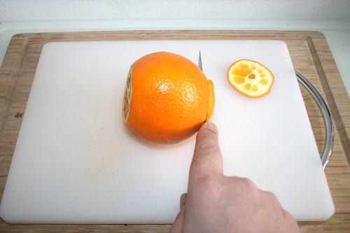 17 - Orange beschneiden / Cut orange