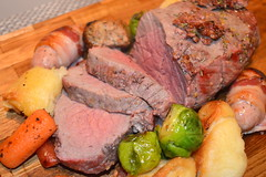 Chateaubriand Steak Roast Dinner