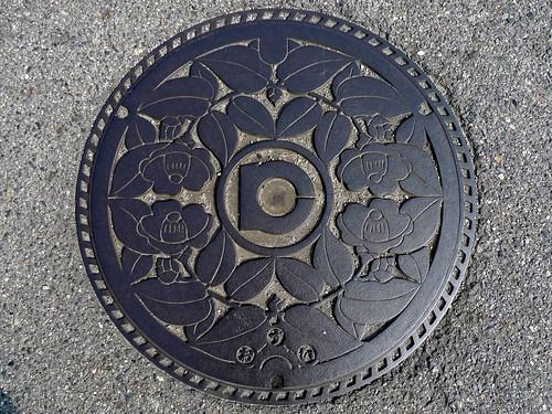 Kota Aichi, manhole cover (愛知県幸田町のマンホール)