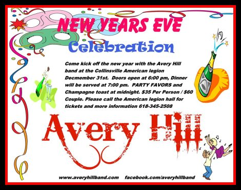 Avery Hill NYE