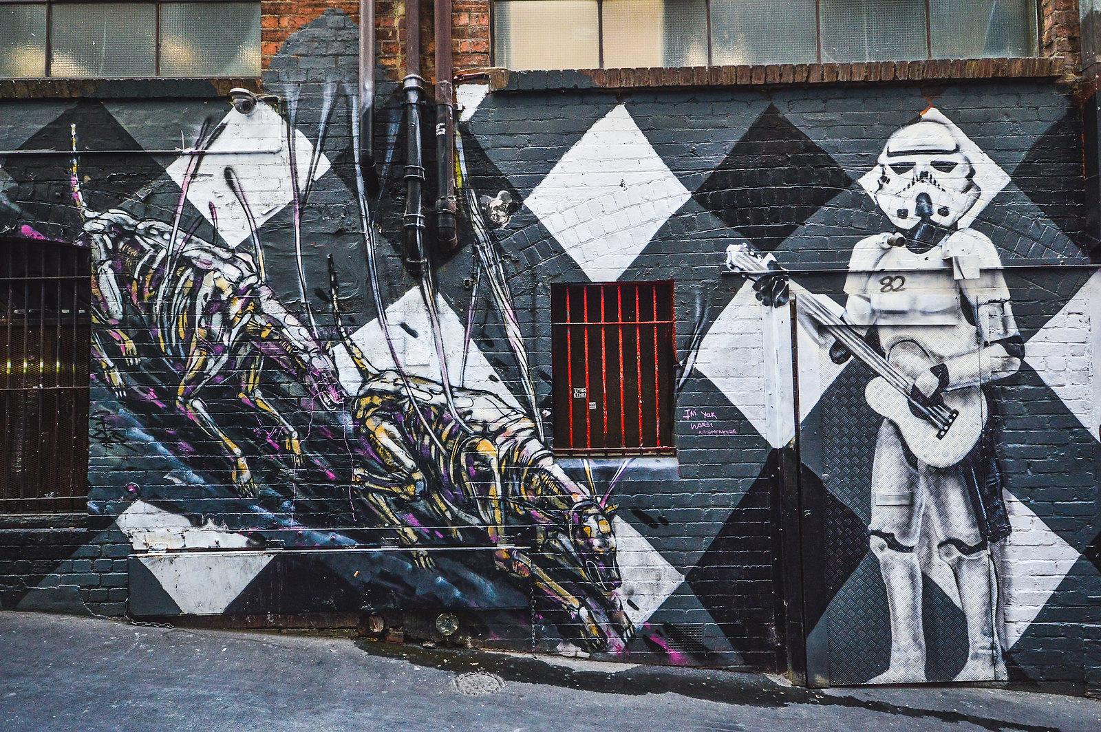 Melbourne AC/DC Lane