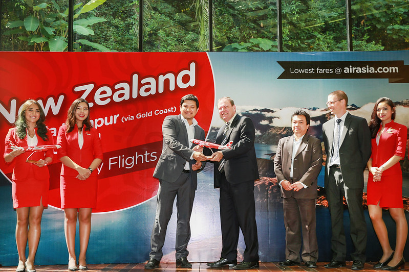airasia x new zealand launch picture 2
