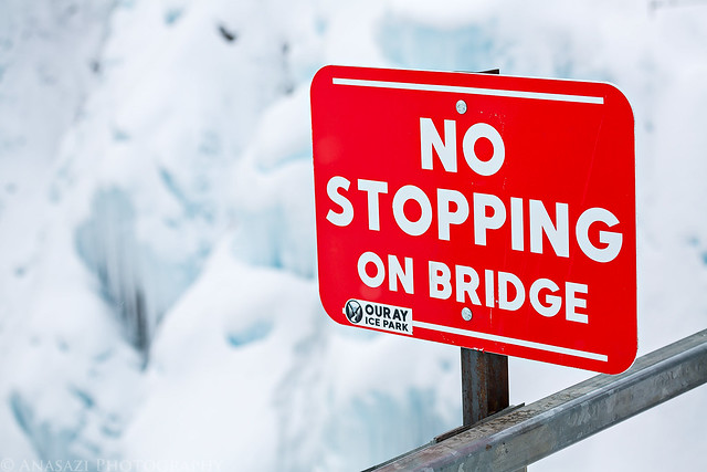 No Stopping on Bridge