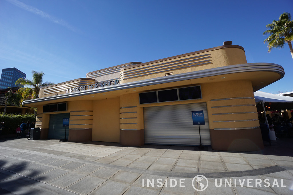 Universal to replace the Character Shop with a new Universal Studio Store