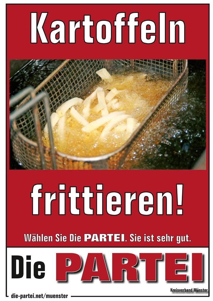 Kartoffeln frittieren!