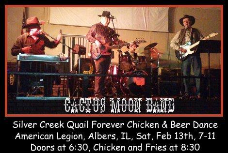 Cactus Moon Band  2-13-16