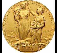 Mullis' 1993 Nobel Prize in Chemistry medal reverse