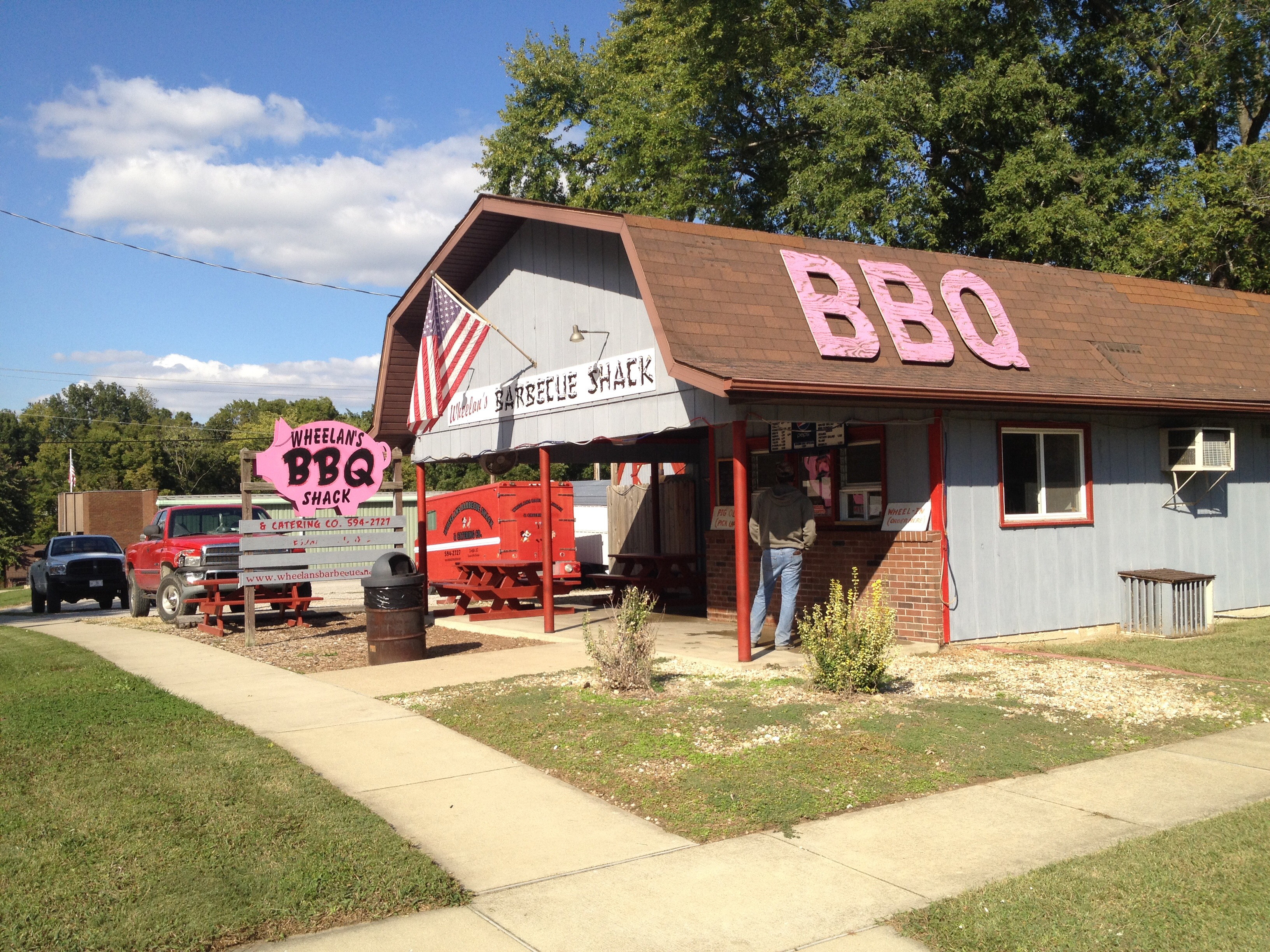 Illinois clinton county huey - Restaurant Pig Illinois Barbecue Carlyle Barbq Wheelansbbqshack