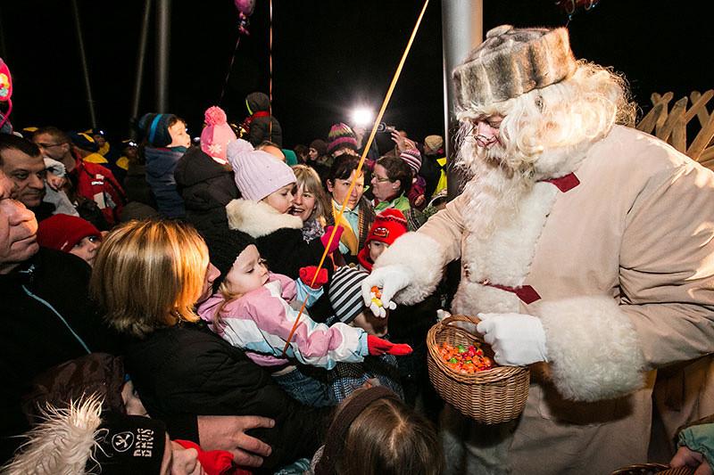Dedek Mraz v Domžalah
