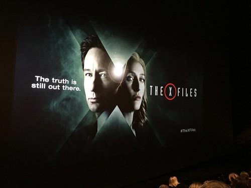 X Files premiere