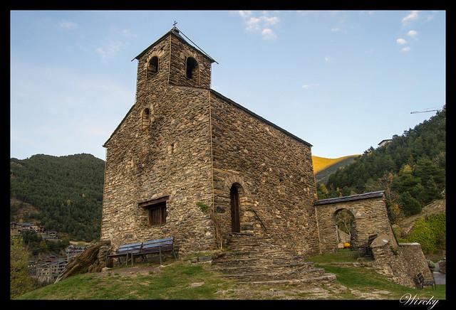 Iglesia de Sant Cristòfol de Anyós