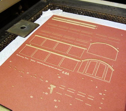 Laser cut kit