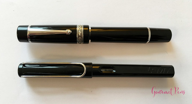 Review GoldPen Delta Mezzanotte Fountain Pen Review (8)