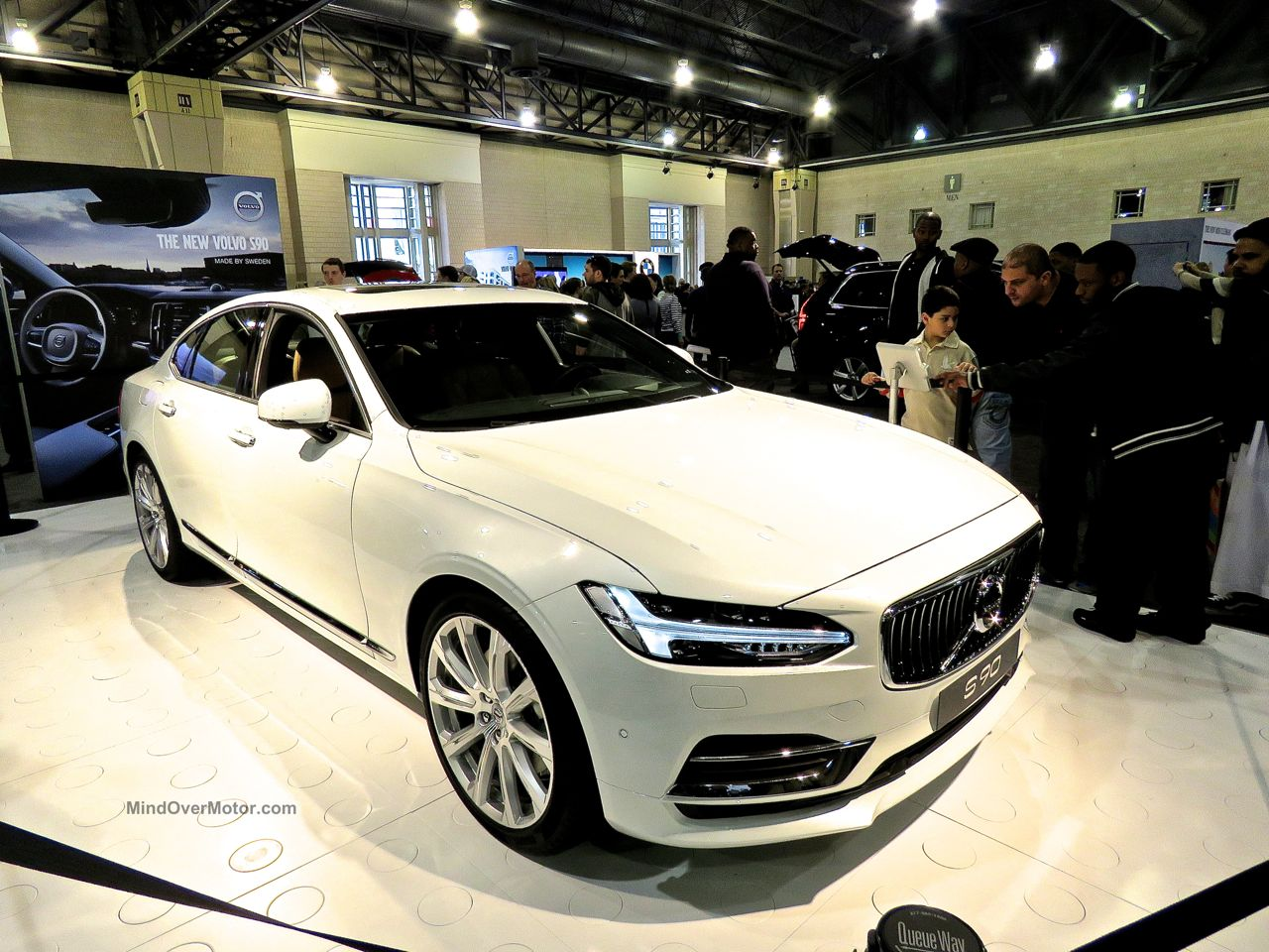 Philly Auto Show 2016 Volvo S90