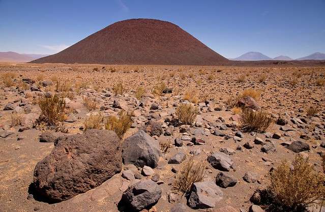 Cerro Poruña. Ollagüe. Antofagasta. Chile.