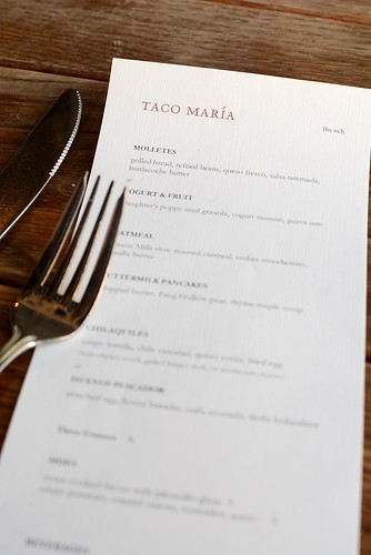 Taco María - Costa Mesa