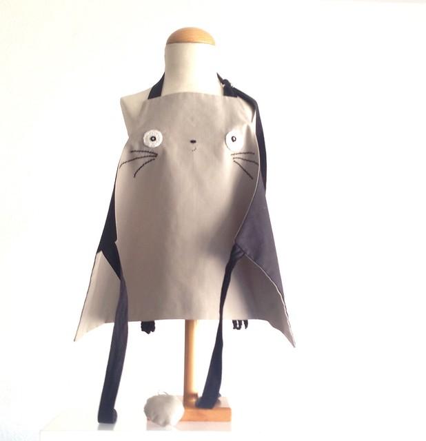 Kids Totoro apron